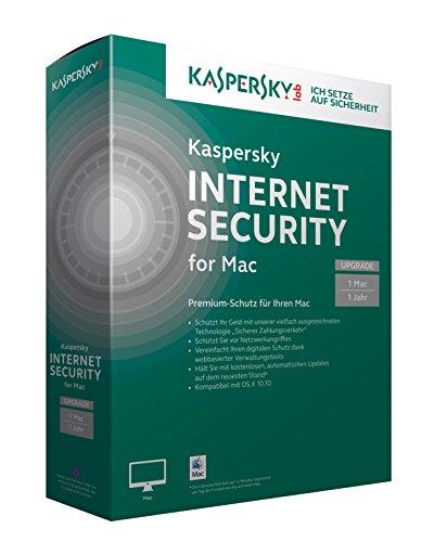 Kaspersky Internet Security 2015 for Mac Upgrade [import allemand]