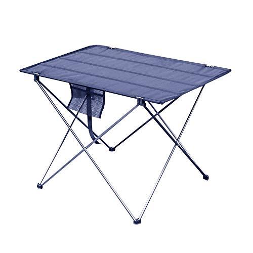 VOSAREA 1 pcs Table Pliante Portable De Bureau en Plein Air Table Pliante Mini en Aluminium Table De Pique-Nique Table Portable en Plein Air Table pour Pique-Nique en Plein Air Maison