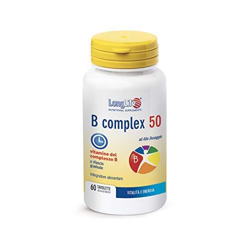 Longlife B Complex 50 T R - 60 tavolette, 90g