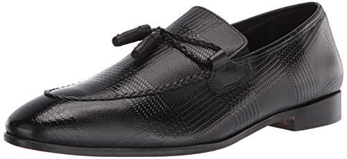 Stacy Adams Bianchi Tassel Slip-On Loafer, Mocasín para Hombre, Negro, 39 2/3 EU