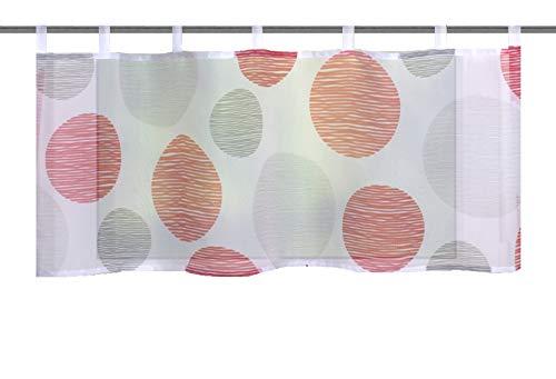 Home fashion BORDEN, polyester, rood, 45x120 cm