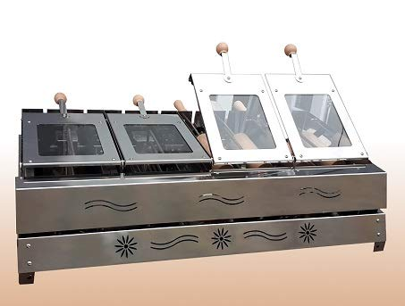 Baumstriezel Grill Ofen Electro 8