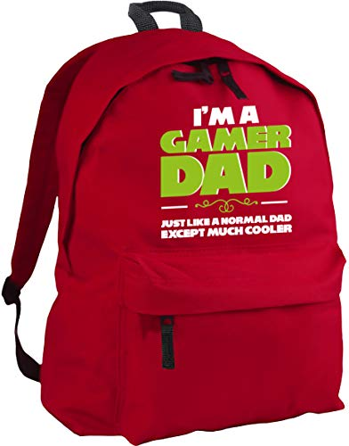 HippoWarehouse I'm a Gamer dad just Like a Normal dad Except Much Cooler Backpack ruck Sack Dimensions: 31 x 42 x 21 cm Capacity: 18 litres