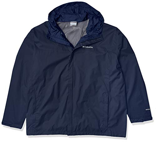 Columbia Men's Watertight II Rain Jacket, Collegiate Navy, Large