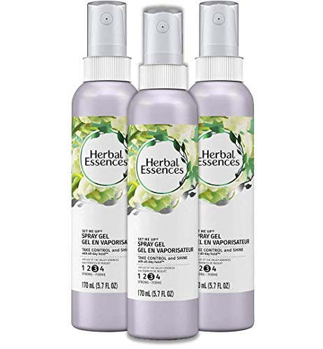 Herbal Essences Set Me Up Spray Gel, 5.7 fl oz (Pack of 3)