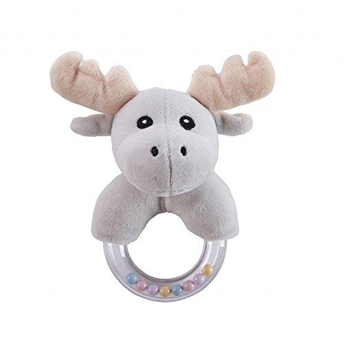 Kids Concept Neonati E Prima infanciasonajeros E Cerchi di peluchekids conceptrattle Edvin Moose, Multicolore (1)