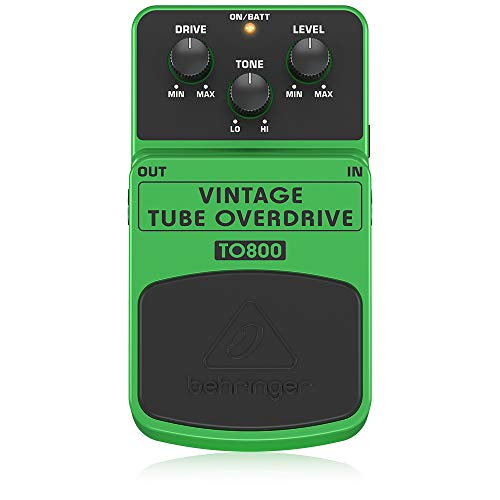 Behringer TO800 Vintage tube overdrive, effect a pedale