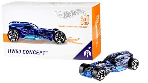 Mattel - Hot Wheels ID Vehículo de juguete, coche 50 aniversario, +8 años ( FXB45)