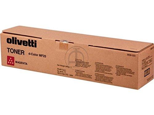 Olivetti B0535–Tóner láser 12000páginas Magenta tóner y cartucho láser cartuchos de tóner y láser (tóner láser, 12000páginas, Magenta, 1pieza (S))