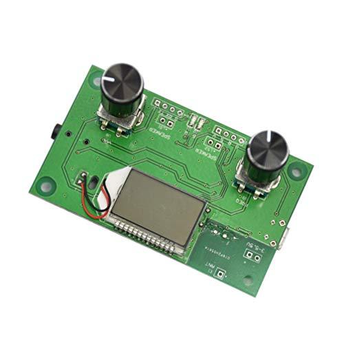 Vosarea 1 PC DSP LCD-Display 87-108 MHz PLL mit serieller Steuerung Wireless Digital Stereo FM-Radioempfängermodul