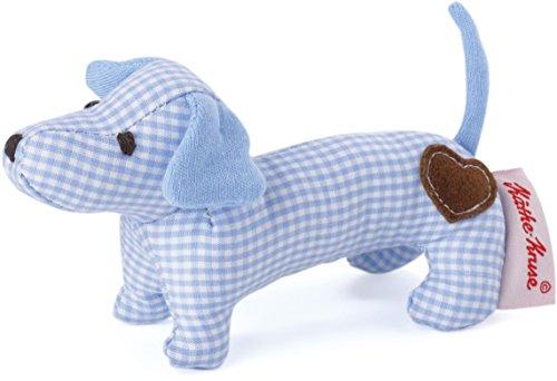 Käthe Kruse 0178375 Mini Greifling Dackel, blau