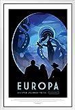 Gerahmtes Poster Europa NASA Weltraumreise, 35,6 x 50,8 cm,