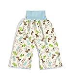 Visyaa Windelrockshorts Baby Unisex Training Windelhose Hohe Taille Baumwolle Trainingshose...
