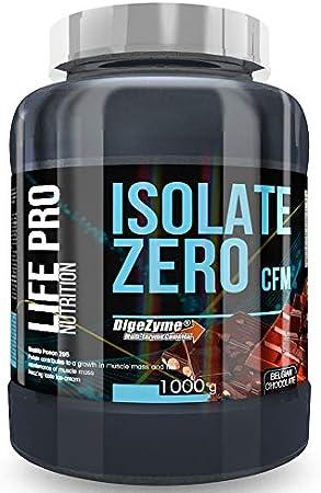 Life Pro Isolate Zero 1Kg | Suplemento Deportivo de Proteína de Suero Aislada, Suplemento Proteísnas para Mejora y Crecimiento del Sistema Muscular, ...