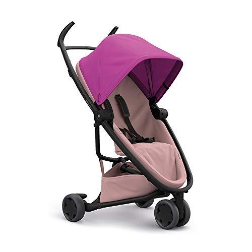 Quinny Poussette 3 roues Zapp Flex ultra compacte - Naissance à 3,5 ans – Pink on Blush