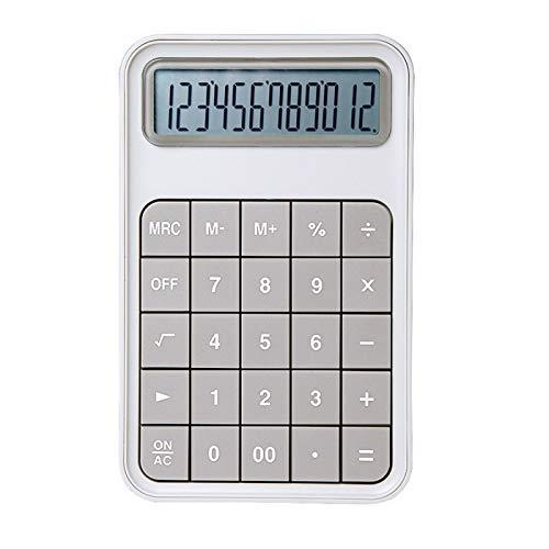 FDSJKD Calculadora de Escritorio Botones Grandes Herramienta de Contabilidad de Negocios financieros Pink Green a estrenar Nueva Calculadora Escuela estudiantil Aprendizaje asistido