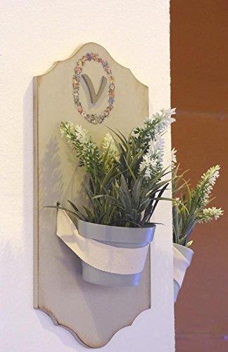Hanglampje voor het beschilderen van MDF om te beschilderen en te decoreren. Afmetingen (B x H): 15 x 30 cm.