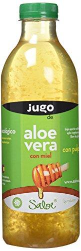 NATURAE Jugo Aloe Vera y Miel Ecológico - 3 Recipientes de