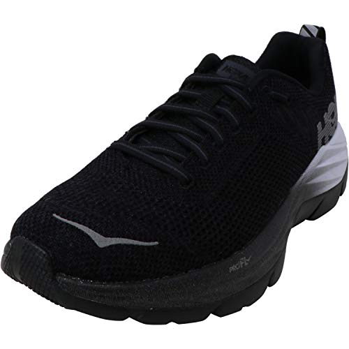 HOKA ONE ONE Womens Mach Fly at Night Fitness Running Shoes Black 7 Medium (B,M)