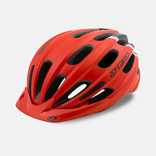 Giro Hale MIPS Youth Visor Bike Cycling Helmet - Universal Youth (50-57 cm), Matte Bright Red (2020)