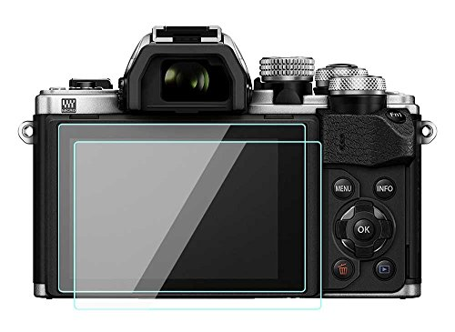 2pezzi Olympus OM-D E-M10Mark III II–Pellicola protettiva in vetro temperato per fotocamera Olympus OM-D E-M10Mark II/Mark III