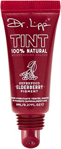 DR.LIPP Tints Baume à Lèvres 100% Natural Moisturising Colour With Edible Plant Pigments Elderberry