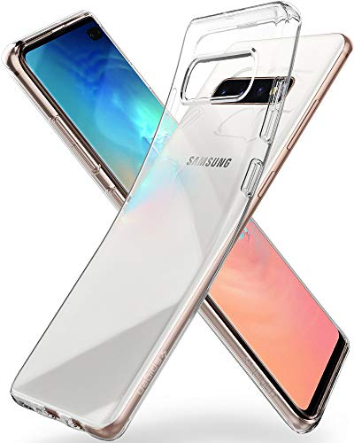 Spigen Cover Liquid Crystal Compatibile con Samsung Galaxy S10 Plus - Crystal Clear