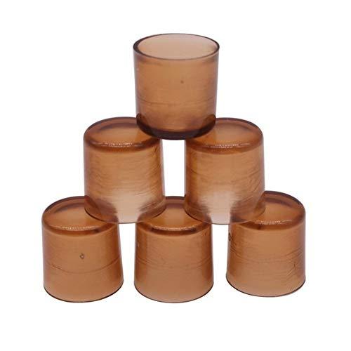 XY-Gardening supplies Conveniente 100 Piezas de 10 * 10 * 10mm Apicultor Formación Abeja Reina Electrodomésticos Brown ABS Fuertes Herramientas Robusta Apicultura Decorativo