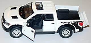 White 2013 Ford F-150 SVT Raptor Supercab 5-inch Pickup Truck with Sunroof + Pullback Action 1/46 Scale
