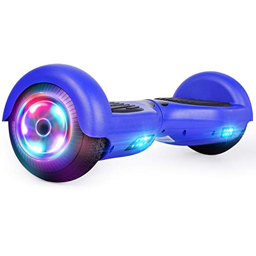 UNI-SUN Bluetooth Hoverboard for Kids, 6.5 Inch Self Balancing Hoverboards with Bluetooth and LED Lights, Bluetooth Hoverboard for Kids Ages 6-12