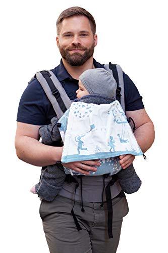 Buzzidil - Mochila portabebés para bebés y niños pequeños, portabebés, espalda y cadera Eden