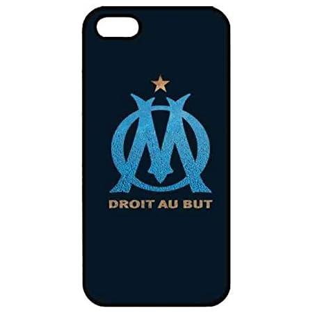 Olympique De Marseille Logo étui pour téléphone, Olympique De Marseille Apple Coque Iphone 5/5S Coque Shell, Olympique De Marseille Apple Coque Iphone ...