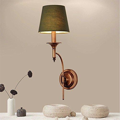 JJZHG Wandlamp, waterdicht, wandverlichting, gang wandlamp, enkele kop, landijzer, doek, café, bar, spiegel, koplamp bevat: wandlamp, stoere wandlampen