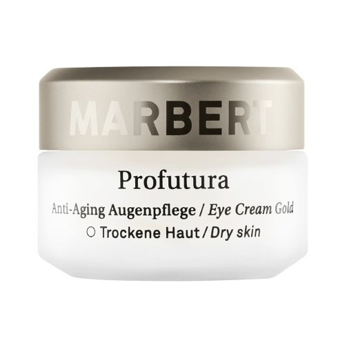 Marbert Profutura femme/woman, Eye Cream Gold Dry Skin, 1er Pack (1 x 15 ml)