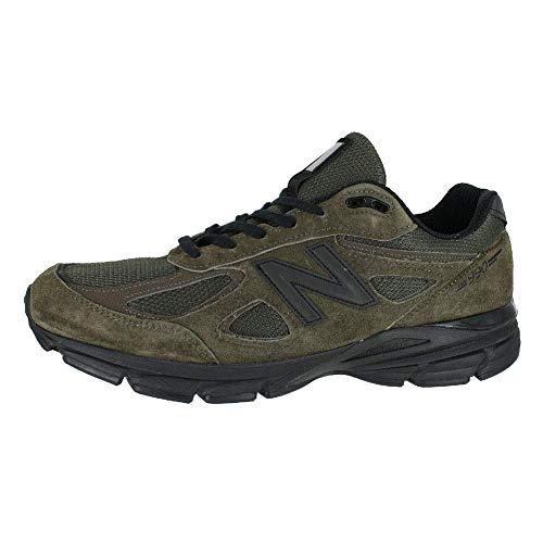 New Balance Men's M990v4 Running Shoe, Military Green , 8 D US