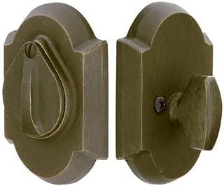 Emtek 8457MB #1 Style Sandcast Bronze Single Cylinder Deadbolt