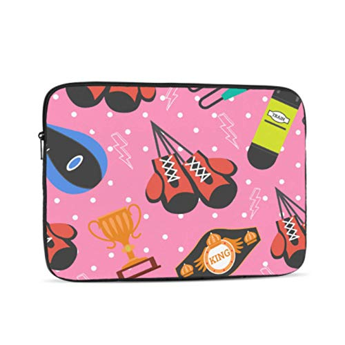 MacBook Cases Colorful Creative Leather Boxing Gloves MacBook Pro Case 15 Multi-Color & Size Choices10/12/13/15/17 Inch Computer Tablet Briefcase Carrying Bag