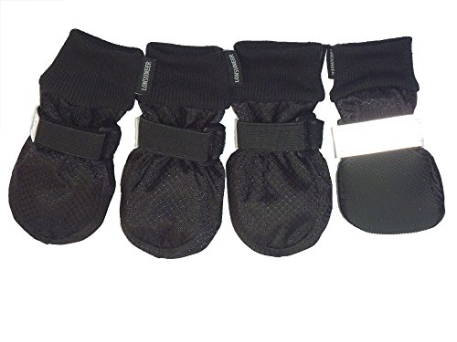 LONSUNEER Paw Protector Dog Boots Soft Sole...