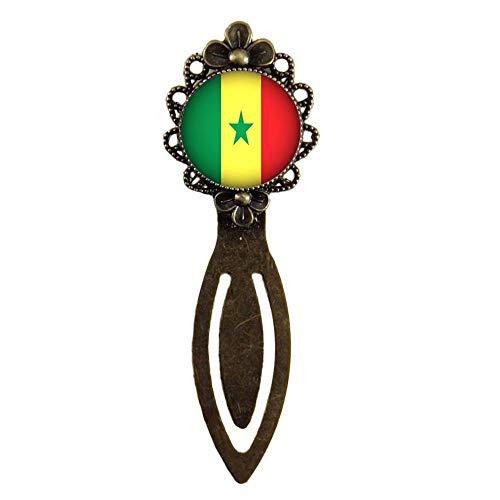 Xubu Bladwijzers voor Lezen Liefhebbers,Senegal Vlag Bladwijzers,Nationale Vlag Bladwijzers