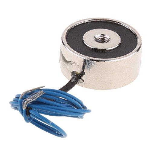 kesoto Magnet Elektromagnet Magnetspule Gleichstrom, Eingangsspannung: 12 V DC - Gleichstrom 6V 50N