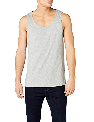 Urban Classics Jersey Big Tank Top Sport, Gris (H.Grey), (Taille Fabricant: Medium) Homme