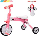 XJD Kids Tricycles for 2 3 4 Years Old and Up Boys Girls Tricycle Kids...