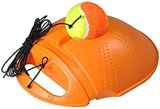 VGEBY Tennis Trainer, Sports Tennis Ball Back Trainer Baseboard with Practice Training with Ball for Kids and Beginners
