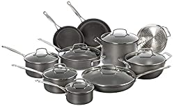 Cuisinart Chef's Classic Non-Stick Hard Anodized, 17 Piece Set Review