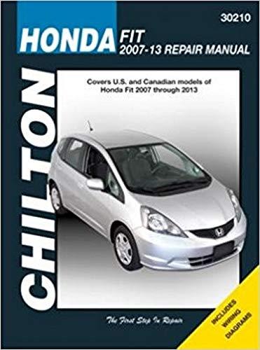 2007 honda fit service manual - 2