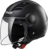LS2 Casque moto of562 Airflow, Matt Black Long, XXS