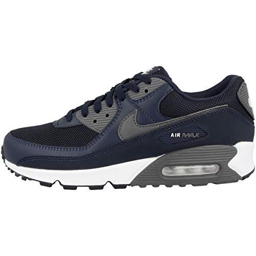 Nike Zapatillas para hombre Low Air Max 90, color Azul, talla 47.5 EU