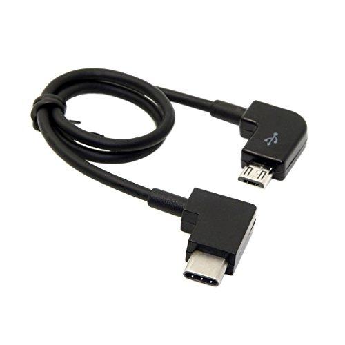 Cablecc Remote Controller Data Cable Type-C to Micro USB for DJI Mavic Pro Platinum Mavic Pro RC Accessories