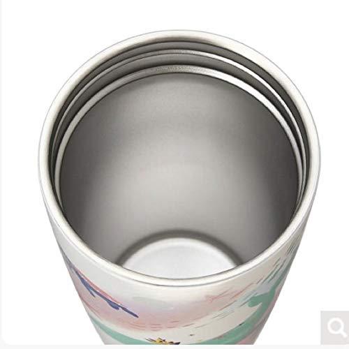 スターバックスストラップカップシェイプステンレスボトルくじら355ml