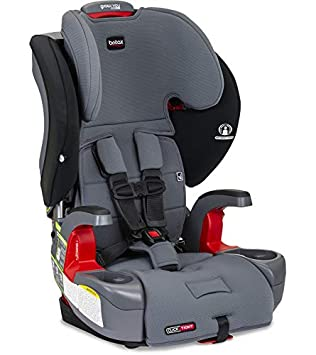 Britax Grow with You ClickTight Harness-2-Booster Car Seat, Otto SafeWash: image